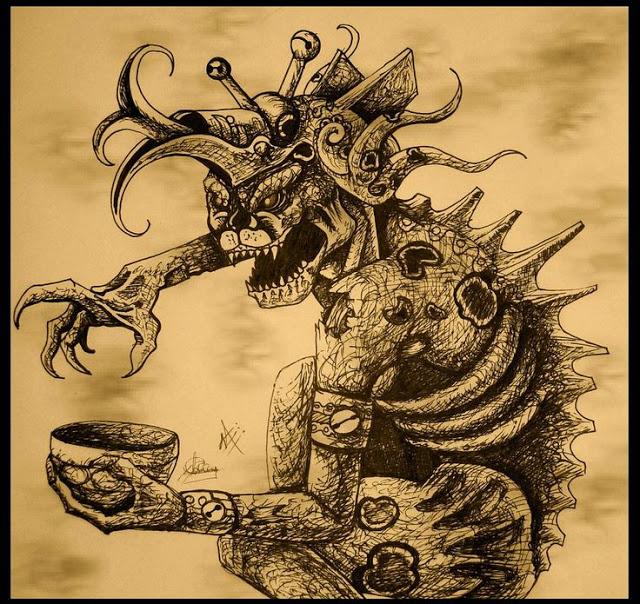 kisin Cizin demonio mesoamericano