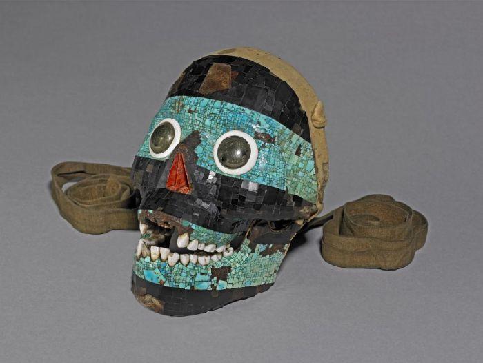 mascara Tezcatlipoca Museo Britanico