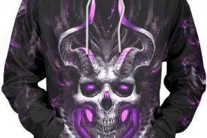 sudadera demonio